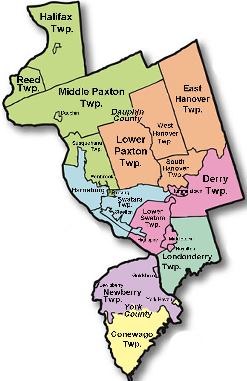 Lehigh County School Districts Map Map Lehigh County School