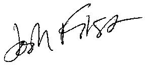 Josh First's signature